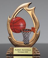 Picture of Flame Basketball Trophy