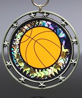 Picture of Basketball Star Medal