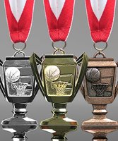 Picture of Basketball Trophy Cup Medals