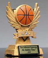 Picture of Victory Wing Basketball Trophy