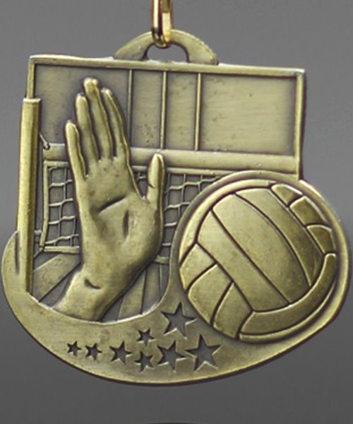 Picture of Volleyball Star Blast Medals