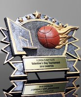 Picture of Silverstone 3-D Basketball Award
