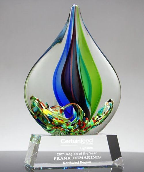 Picture of Bliss Art Crystal Award