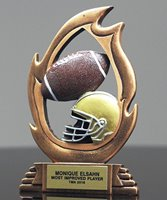 Picture of Football Flame Trophy