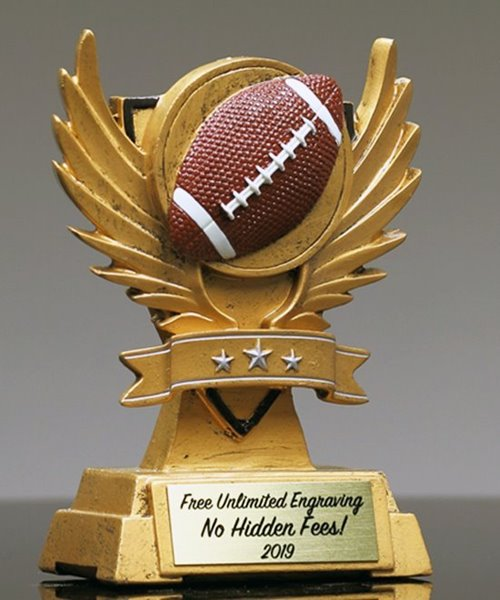 Picture of Victory Wing Football Trophy
