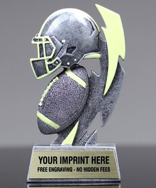Picture of Glow In The Dark Football Trophy