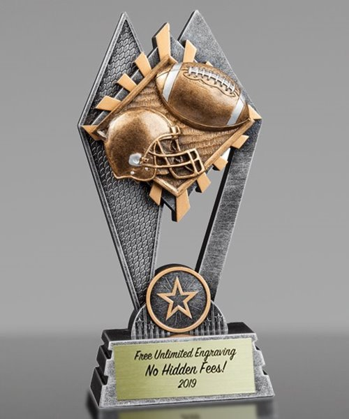 Picture of Sun Ray Football Award