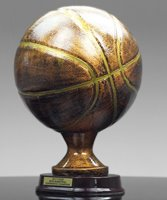 Picture of Bronzestone Basketball Replica Trophy