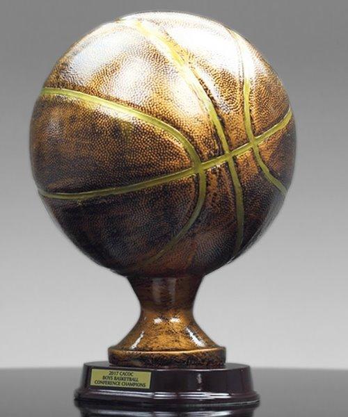Picture of Bronzestone Basketball Replica Trophy
