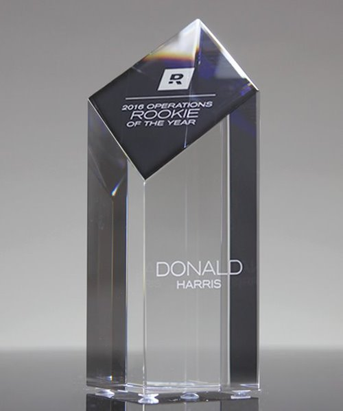 Picture of Crystal Diamond Tower Award