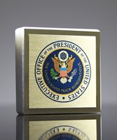 Picture of Marble Square Paperweight