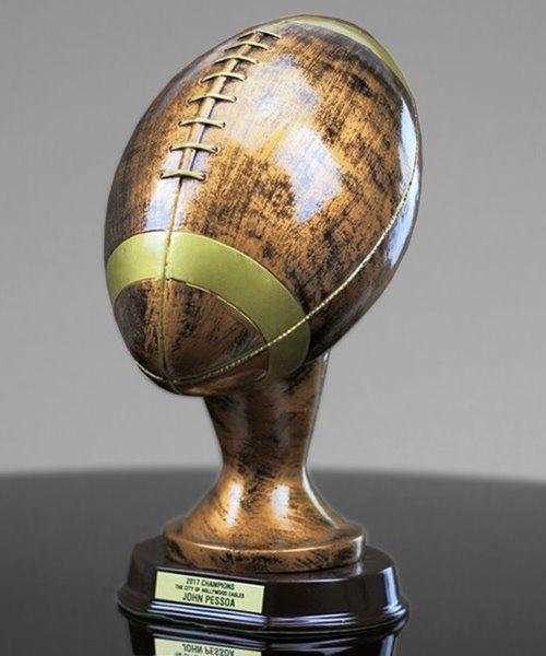 Picture of Bronzestone Football Replica Trophy