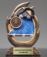 Picture of Flame Swimming Trophy