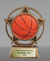 Picture of Orbit Basketball Trophy