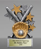 Picture of Star Blast Baseball Award