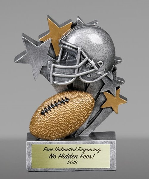 Picture of Star Blast Football Award