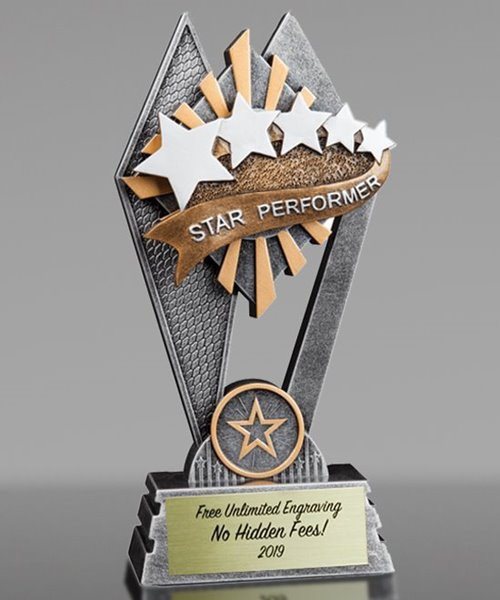 Picture of Sun Ray Star Performer Award