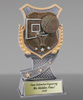Picture of Pro Shield Basketball Trophy