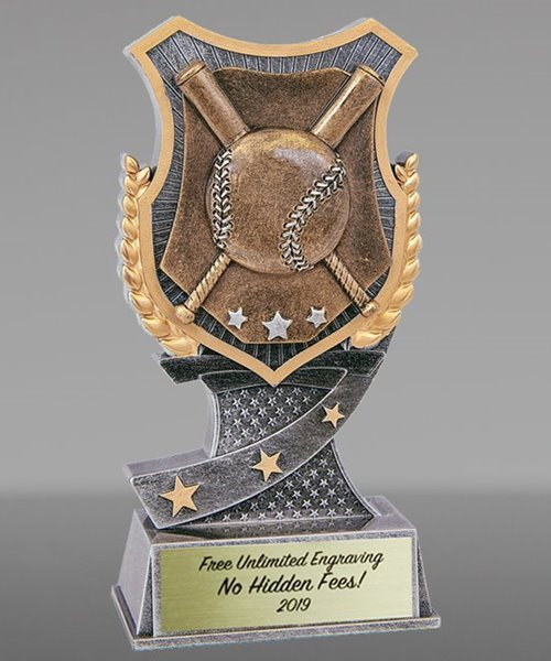 Picture of Pro Shield Baseball Trophy