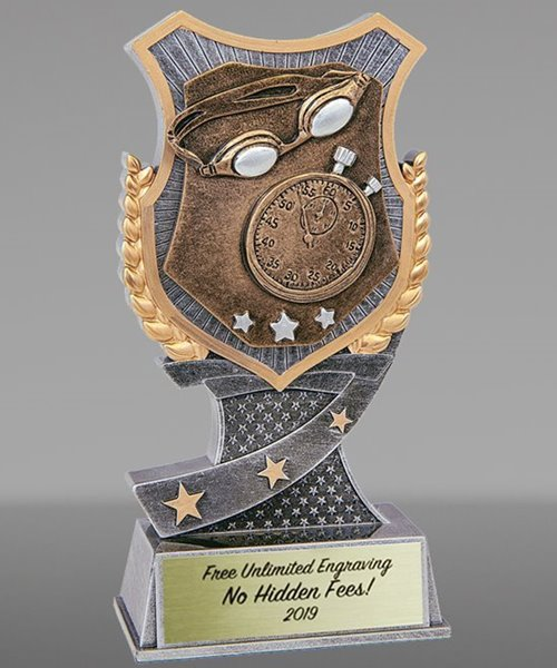 Picture of Pro Shield Swimming Trophy
