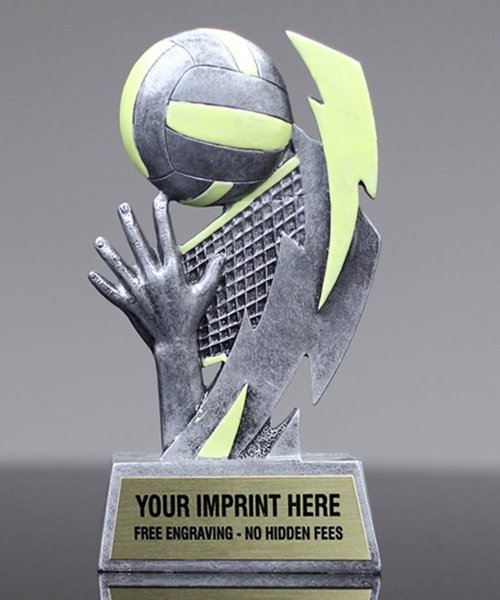 Picture of Glow In The Dark Volleyball Trophy