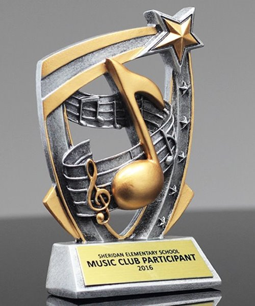 Picture of Music 3D Star Award