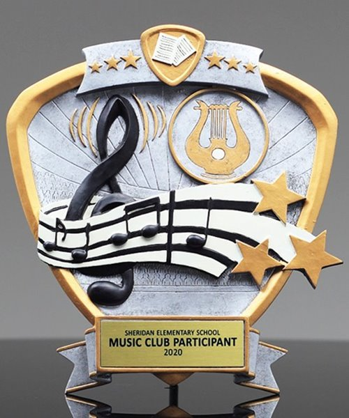 Picture of Music Shield Award