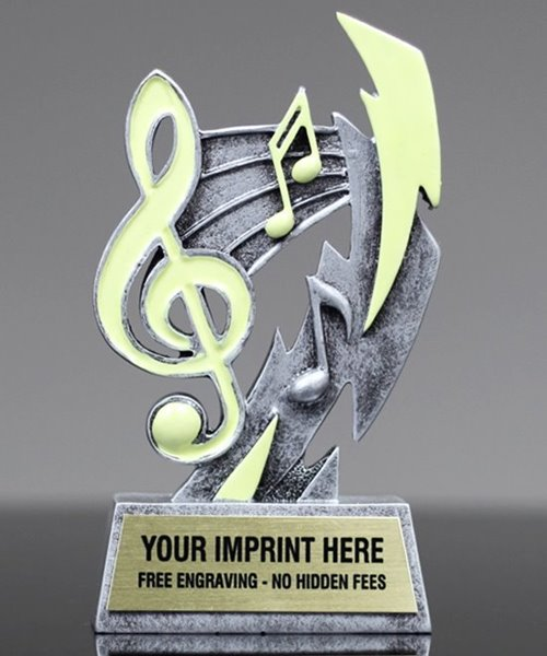 Picture of Glow In The Dark Music Trophy