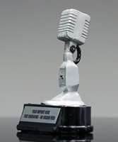 Picture of Vintage Microphone Award