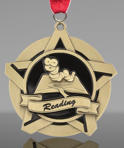 Picture of Super Star Reading Medal