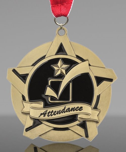 Picture of Super Star Attendance Medal