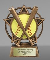 Picture of Orbit Softball Trophy