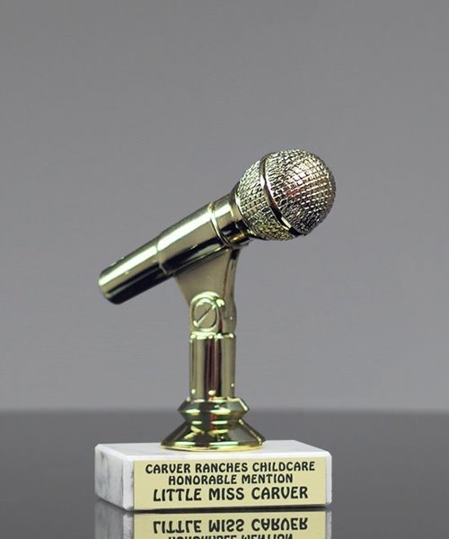 Picture of Microphone Participant Trophy