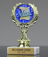 Picture of Wreath Music Trophy