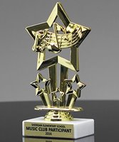 Picture of Star Theme Music Trophy