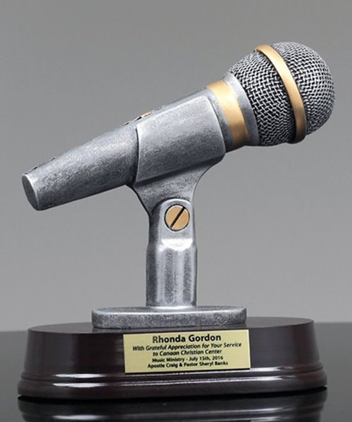 Picture of Microphone Resin