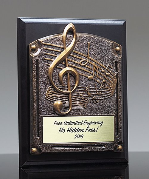 Picture of Greystone Music Plaque