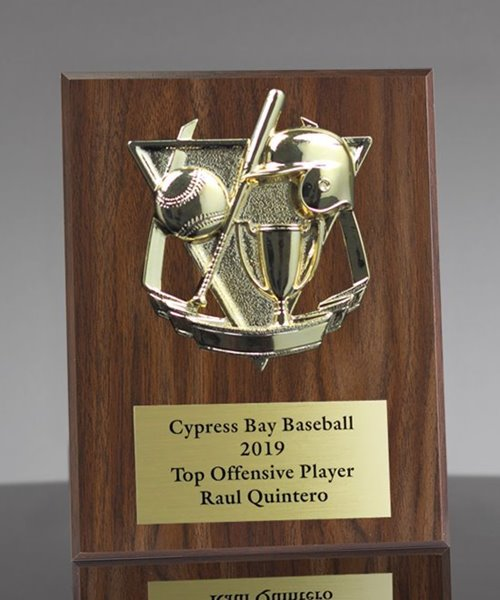 Picture of Classic Baseball League Plaque
