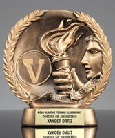 Picture of Bronzestone Victory Trophy