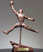 Picture of Basketball Finger Roll Trophy