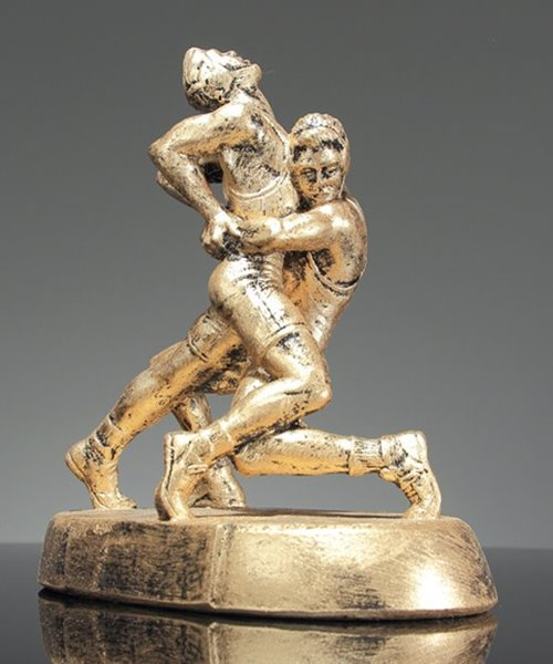 Picture of Bear Hug Wrestling Trophy