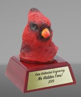 Picture of Cardinal Mascot Trophy