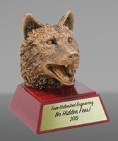 Picture of Wolf Mascot Trophy