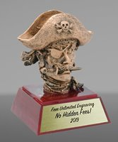 Picture of Pirate Mascot Trophy