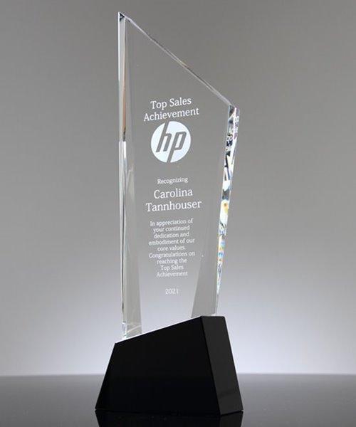Picture of Crystal Sky Scraper Award