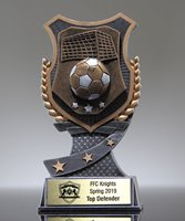 Picture of Pro Shield Soccer Trophy