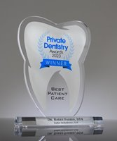 Picture of Acrylic Tooth Trophy