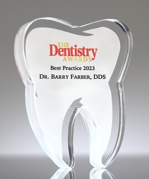 Picture of Custom Tooth Paperweight Award