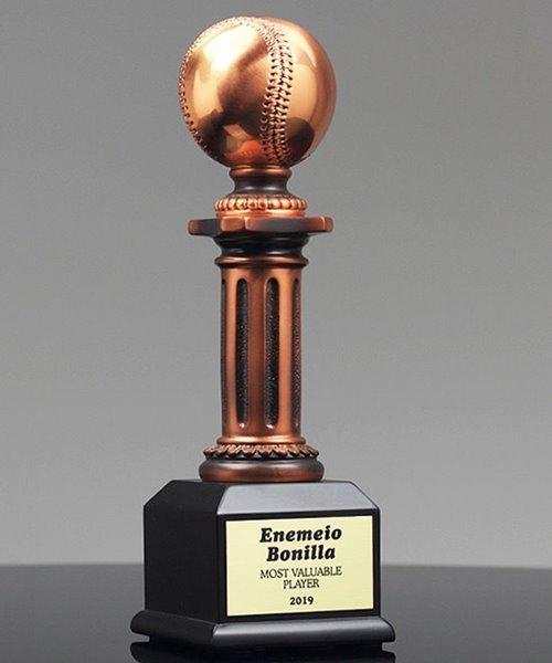 Picture of Baseball Pedestal Award