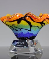 Picture of Glamour Art Glass Award
